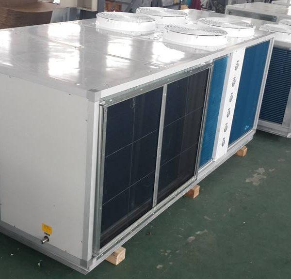 SMRR风冷热泵型屋顶式空调机组